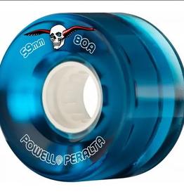 Powell Peralta POWELL PERALTA H8 CLEAR CRUISERS WHEELS BLUE 80A(59)