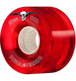 Powell Peralta POWEL PERALTA CLEAR CRUISER H8 WHEELS RED 80A (55)