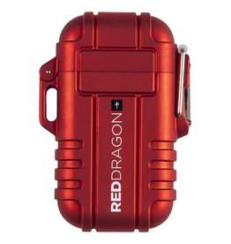 RDS WINDPROOF ARC LIGHTER RED