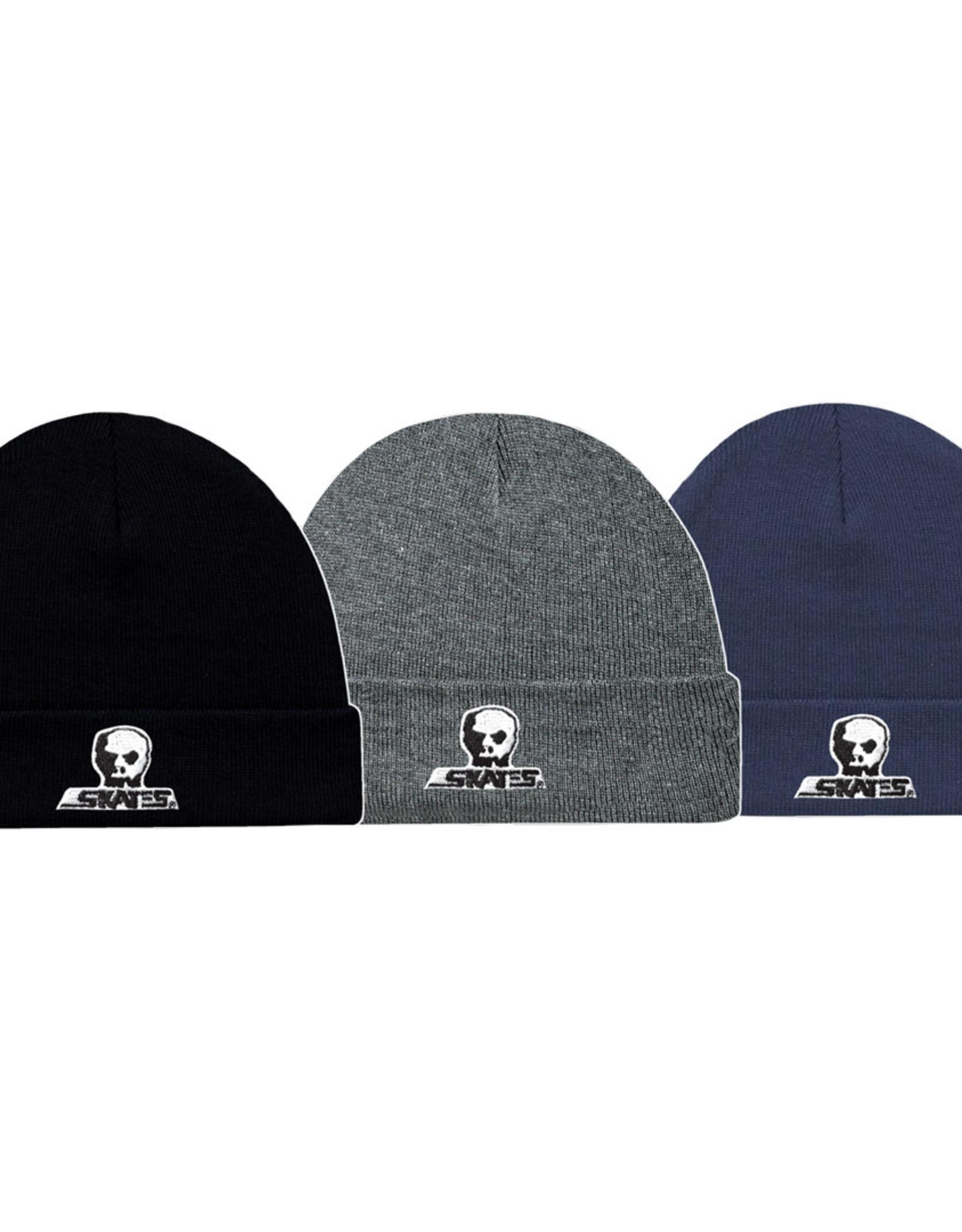 Skull Skates SKULL TOQUE SMALL LOGO W CUFF CHAR