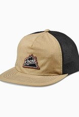 Roark Revival Roark Peaking Trucker Hat  Army