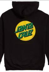 Santa Cruz OTHER DOT HOODY XXL BLK/GLD/GRN