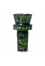 ACE-LABZ TX819 14mm Unbreakable Metal Bowl GRN/BLK