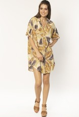 Amuse Daniella woven mini dress