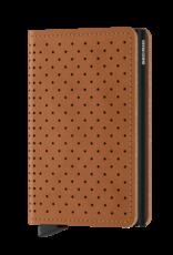 Secrid Slimwallet Perforated Cognac
