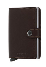 Secrid Miniwallet Original Brown Dark