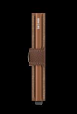 Secrid Miniwallet Saffiano Caramel