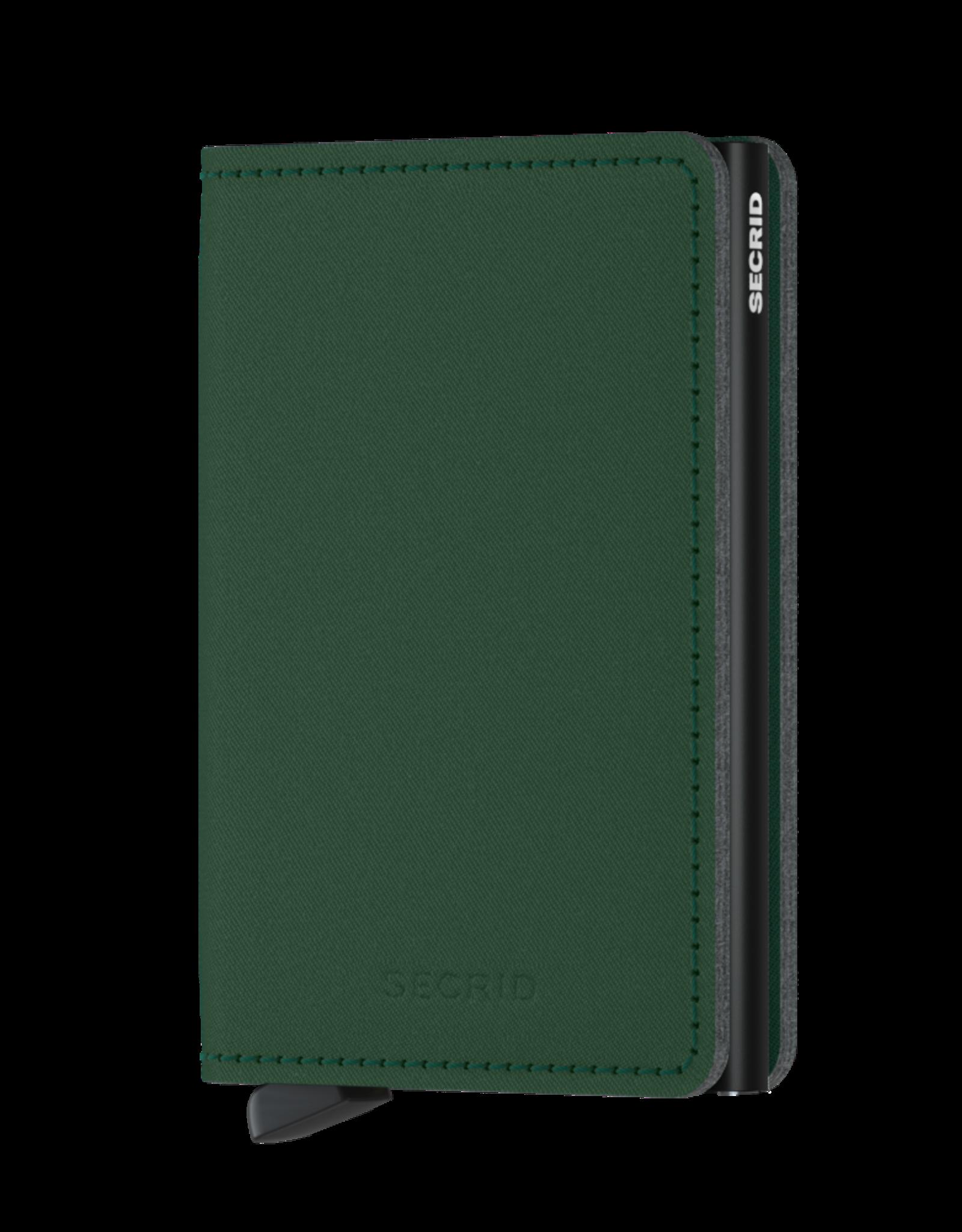 Secrid Slimwallet Yard Green (non-leather)