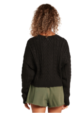 Volcom CABLED BABE SWEATER