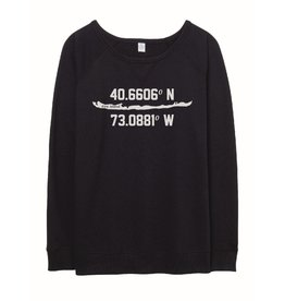 Alternative Apparal Latitude Longitude Relaxed Pullover
