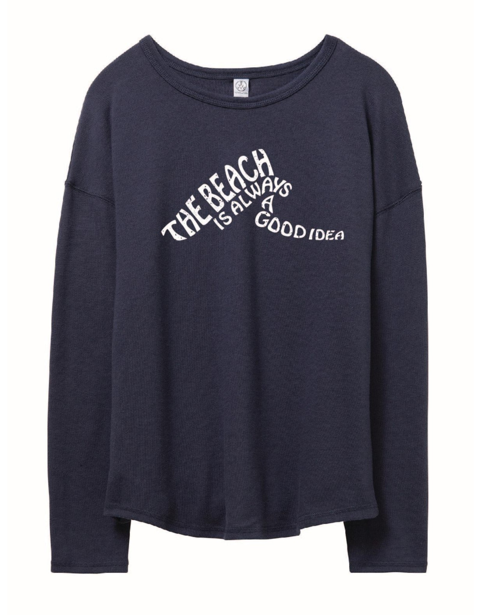 Alternative Apparal The Beach Relaxed Pullover