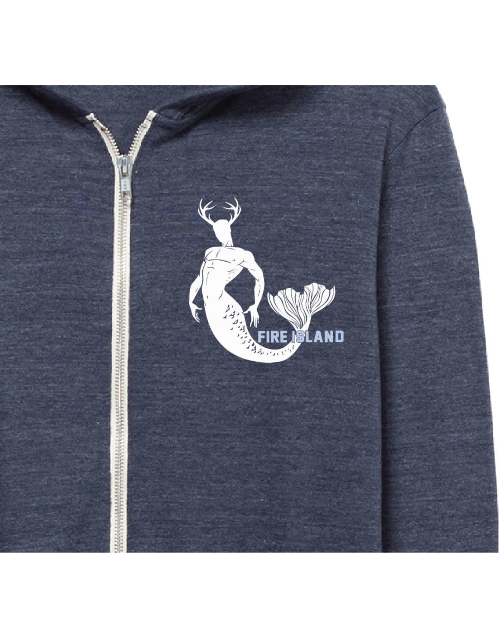 Alternative Apparal Merbuck Eco Jersey Zip Up Hoody