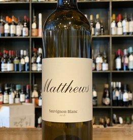 Matthews Sauvignon Blanc