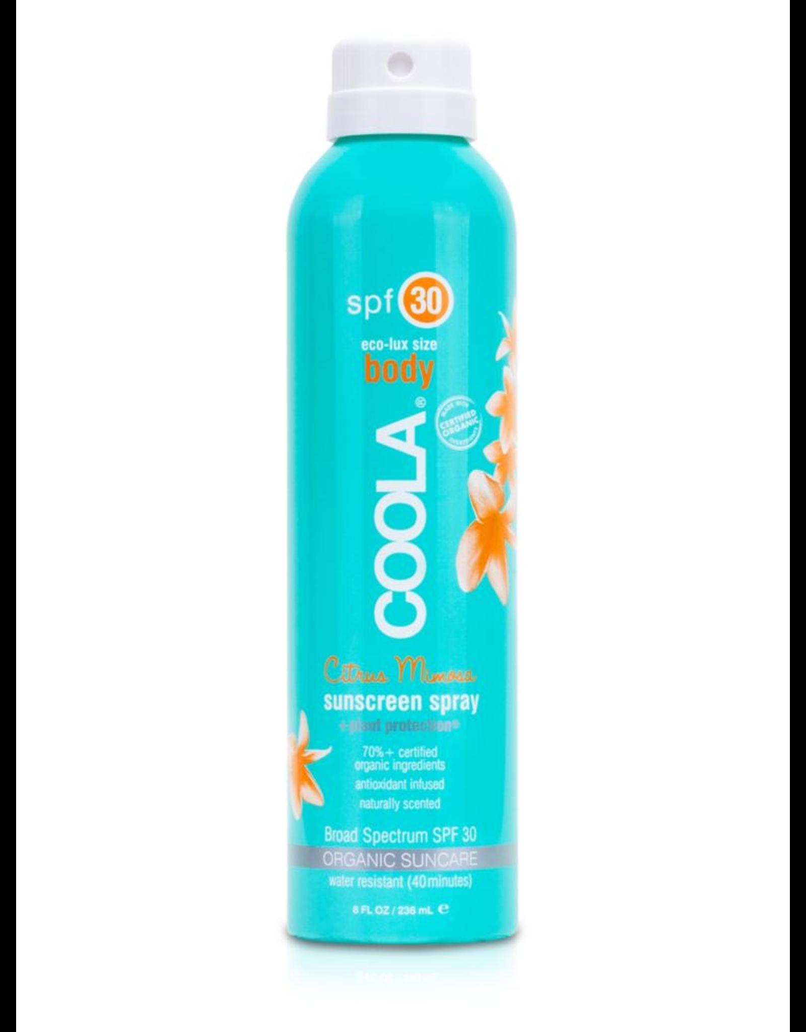 Coola Body SPF 30 Suncreen Spray 236ml
