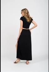 Koy Laguna Maxi Skirt W/Knot