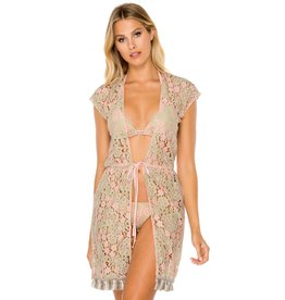 Luli Fama Gitana Vest Dress