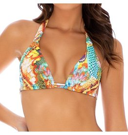 Luli Fama Just Wing It Triangle Halter