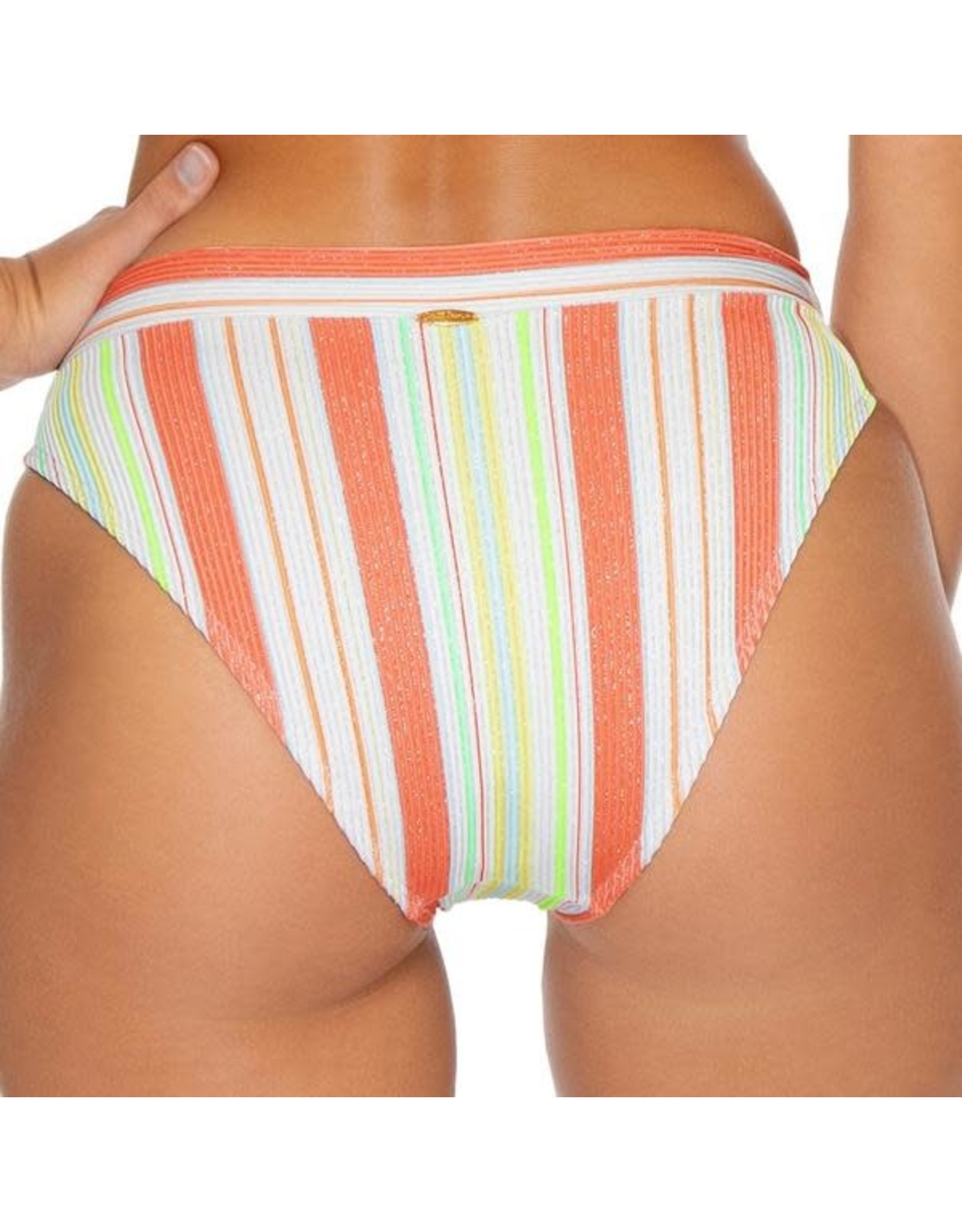 Luli Fama Play Time High Leg Banded Bottom