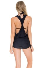 Luli Fama Cosita Buena T-Back Mini Dress
