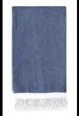 Turkish-T Basic Single Stripe Towel