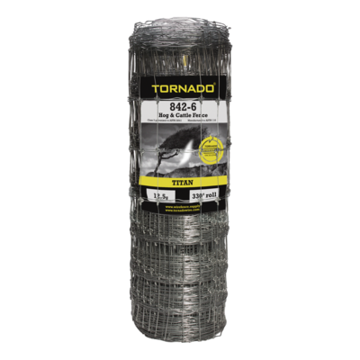 Tornado Wire 842 TITAN FIXED KNOT HI TENSILE FENCE