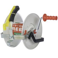 3:1 Geared Reel w/ 656' Tape
