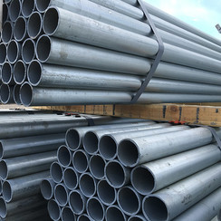 SS40 GALVANIZED PIPE POSTS