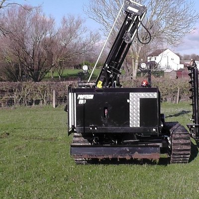Protech Equipment EVO1 Tracked Fencing Machine (base w/o options)