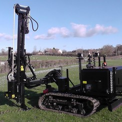 EVO Compact Tracked Fencing Machine (base w/o options)
