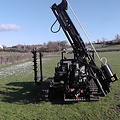 Protech Equipment EVO Compact Tracked Fencing Machine (base w/o options)