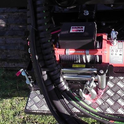 Protech Equipment Electric Winch W/Remote