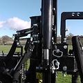 "Protech Equipment Pilot Auger Drive With 4"" & 6"" Bits"