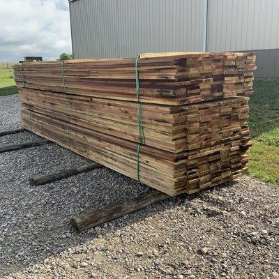 "American Timber & Steel Poplar Fence Board 1"" x 6"" x 16'"