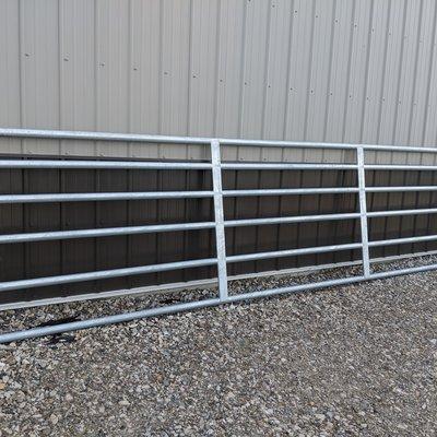 "Farm Fence Solutions HEAVY DUTY 16 GA 2"" TUBULAR PANEL GATE"