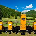 Montana Post Driver Montana T-REX 350E Skid Steer Fork Mount