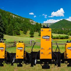 Montana T-REX 350E Skid Steer Fork Mount