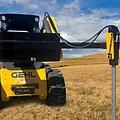 Montana Post Driver MontanaT-REX 350E Skid Steer Side Mount