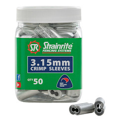 Crimp Sleeves 3.15mm – Bottle of 50