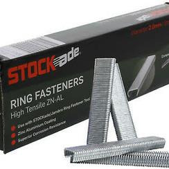 Stockade Manual Ring Fasteners 1000ct