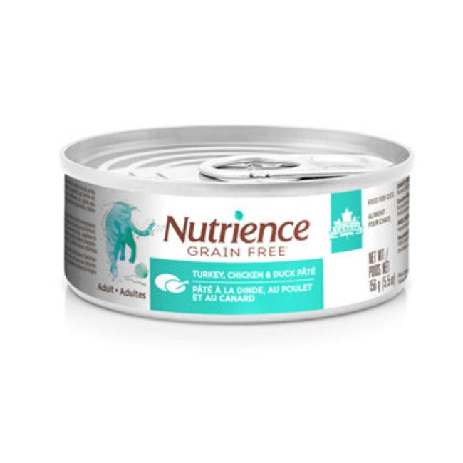 Nutrience 5.5oz Turkey,Duck & Chicken