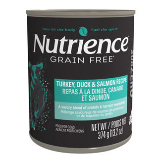 Nutrience 13.2oz Turkey,Duck,Salmon