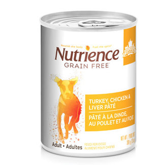 Nutrience 13oz Chicken,Turkey & Liver