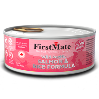 FirstMate 5.5oz Salmon & Rice
