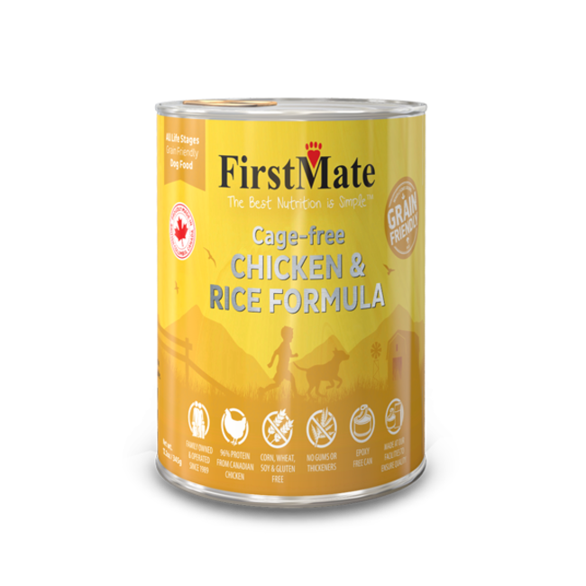 FirstMate 12.2oz Chicken & Rice
