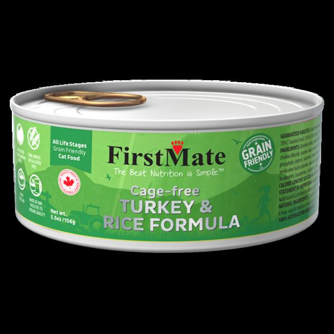 FirstMate 5.5oz Turkey & Rice