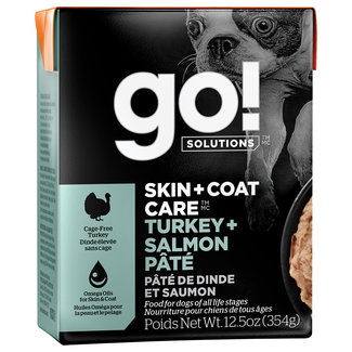 GO!Solutions 12.5 oz Turkey & Salmon Pate