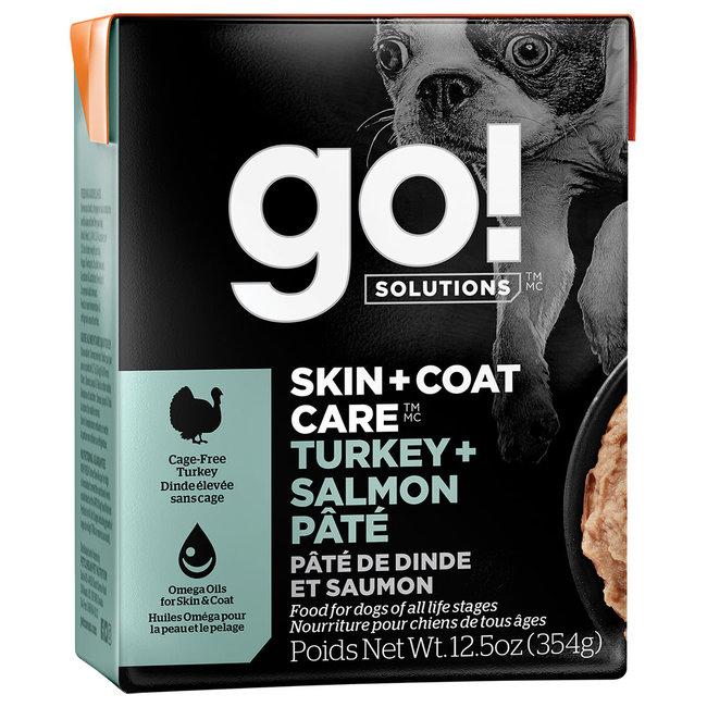 GO!Solutions 12.5 oz Turkey & Salmon Pate
