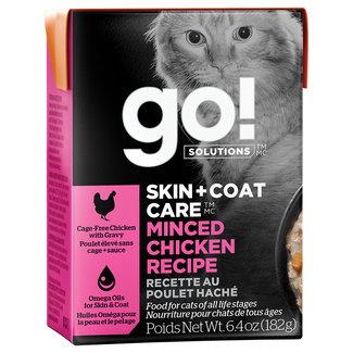 GO!Solutions 6.4oz Skin & Coat Minced Chicken