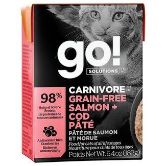 GO!Solutions 6.4oz Salmon & Cod Pate
