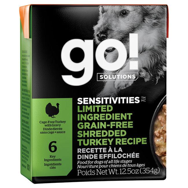 GO!Solutions 12.5oz LID Shredded Turkey